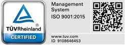 TUV Management System ISO 9001:2015